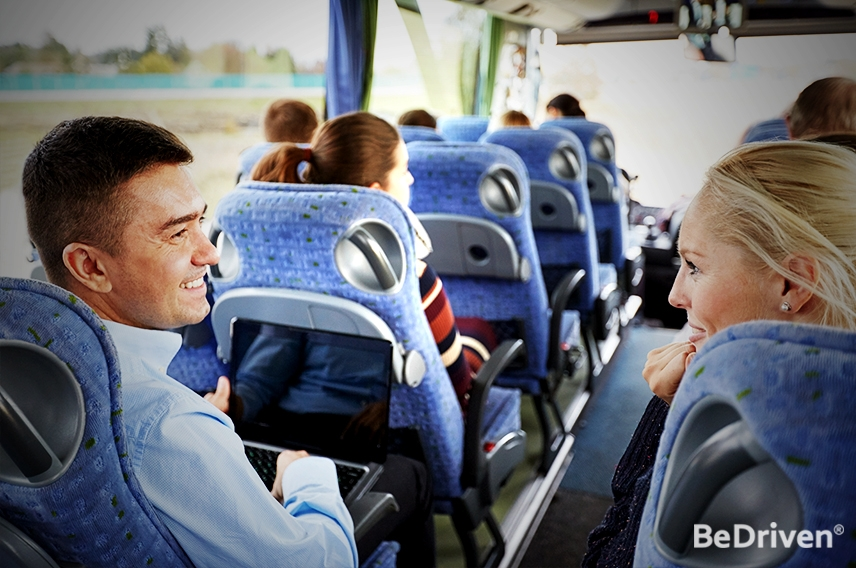 Advantages of Traveling by Coach Charter Bus